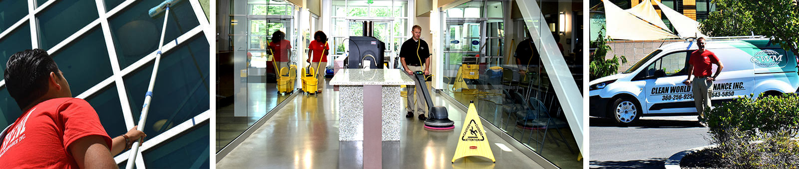 More variety in professional cleaning with Clean World Maintenance